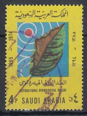 Briefmarken g1376 Mittlerer Osten GroßZüGig Saudi Arabia 1973 Mi.548 Fine Used Hydrologische Dekade Hydrological