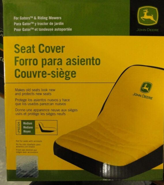"""JOHN DEERE Seat Cover LP92324 for seats up to 15"""" high medium"""