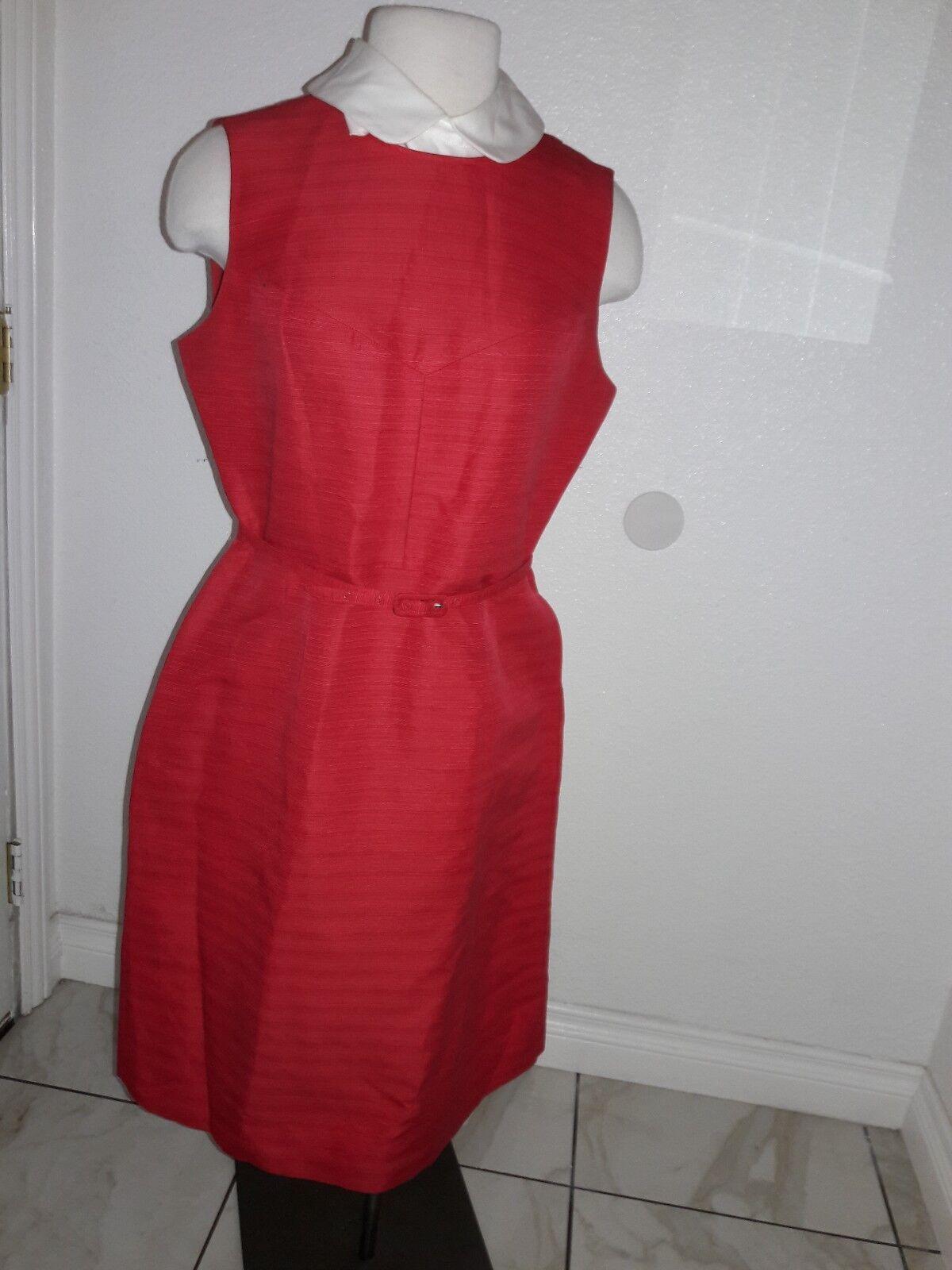 Tory Burch Dress  Sz 10 Red color Career