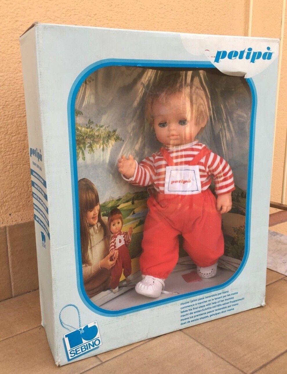 (bambola petip à petipa petipa  cammina tenendolo pro mano anni '80'