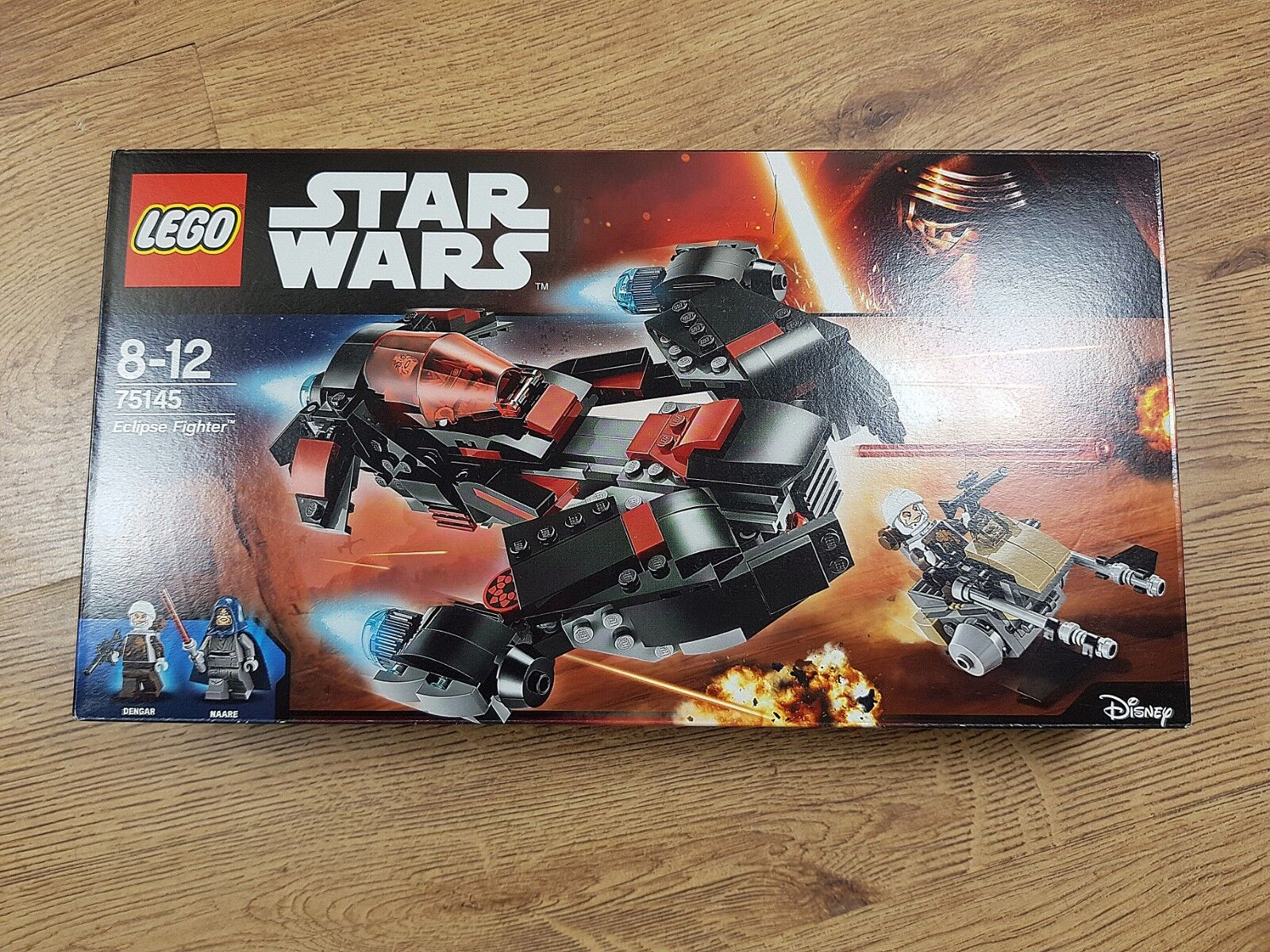 LEGO Star Wars 75145 Eclipse Fighter (2016)   New, Unopened, Great Condition