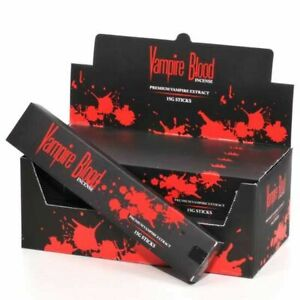 Nandita Vampire Blood Incense Sticks Agarbathi - 15G Packs (12)
