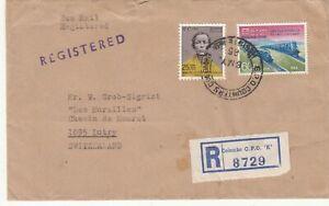 CEYLON-1965-REGISTERED-SEA-MAIL-COVER-TO-SWITZERLAND-Rfno-C218