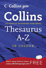 Thesaurus A-Z by HarperCollins Publishers (Paperback, 2009)