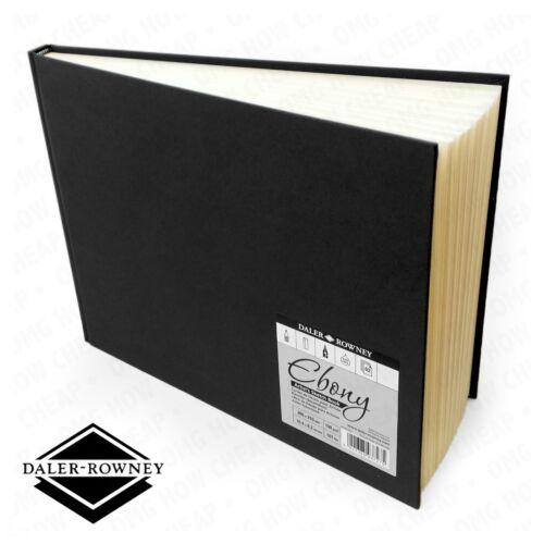 Daler Rowney Landscape Ebony Artist/'s Hardback Sketch Book 150gsm 265x210mm