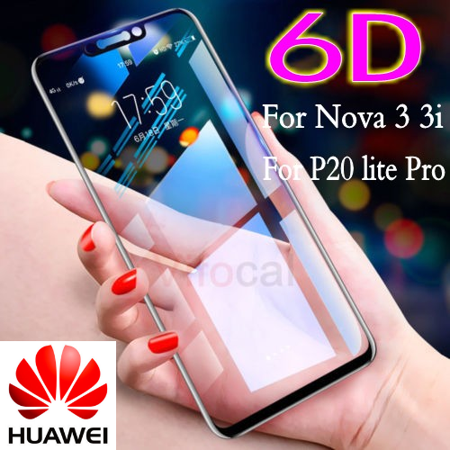 6D For Huawei P20 Pro Lite  Full Cover Tempered Glass Film Screen Protector CA