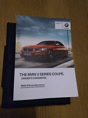 Bedienungsanleitungen GENUINE BMW 2 SERIES COUPE F22 HANDBOOK ...