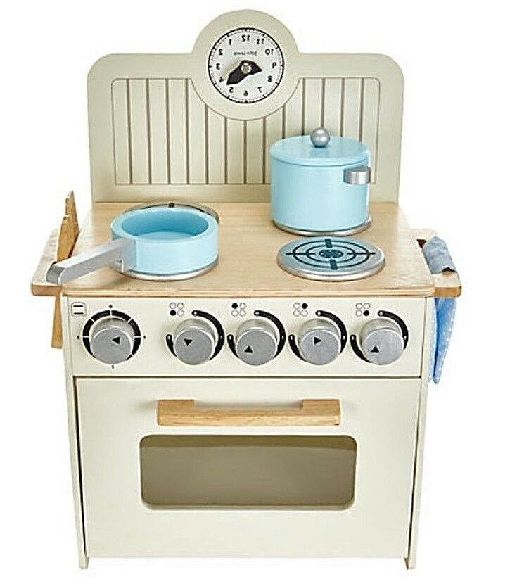 Mini Wooden Toy Kitchen for Budding Chef Girls Gift