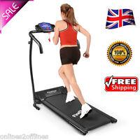 Folding Electric Motorized Treadmill Jogging Walking Machine Gym Fitness 600w