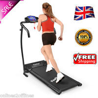 Folding Electric Motorized Treadmill Jogging Walking Machine Gym Fitness 600w