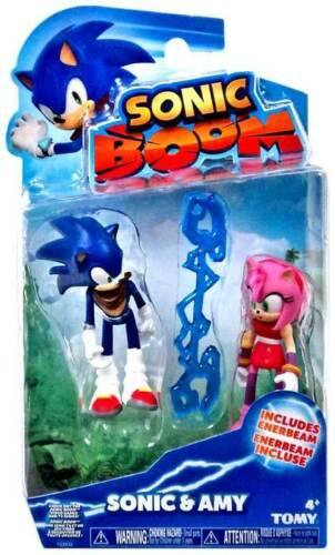 Sonic Boom Sonique & Amy Rose Set Figure avec enerbeam Sonic The Hedgehog 2-Pack
