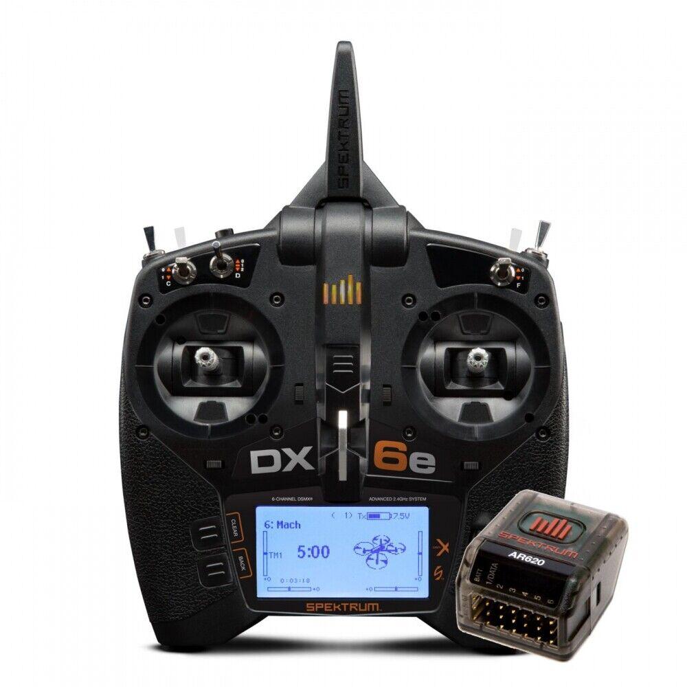 Spektrum DX6e 6CH sistema con AR620 SPM6655