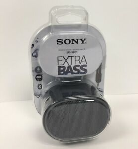 Black//Aqua Sony XB01 Bluetooth Compact Portable Speaker SRSXB01//B