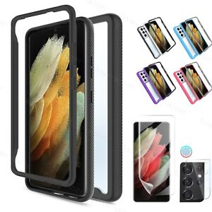 For Samsung Galaxy S21/S21+/Ultra 5G Note 20 Case Camera Lens Screen Protector
