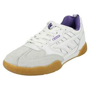 femmes-hi-tec-Squash-Classique-Cuir-Baskets-lacet-decontracte-CHAUSSURES-SPORT