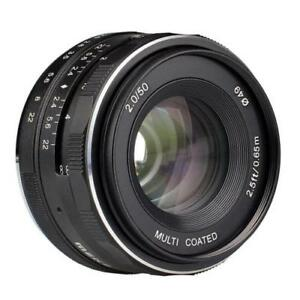 Meike-50mm-f2-0-Lens-Large-Aperture-Manual-Focus-lens-APS-C-for-Fujifilm-Camera