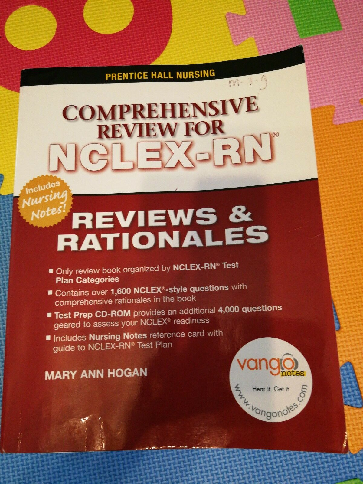 prentice halls comprehensive review for nclexrn reviews rationales