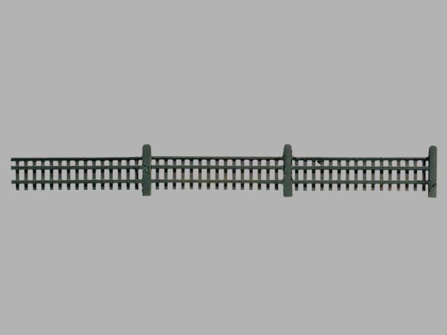 Vollmer H0 45013  Gartenzaun, Länge 192cm  NEU/OVP