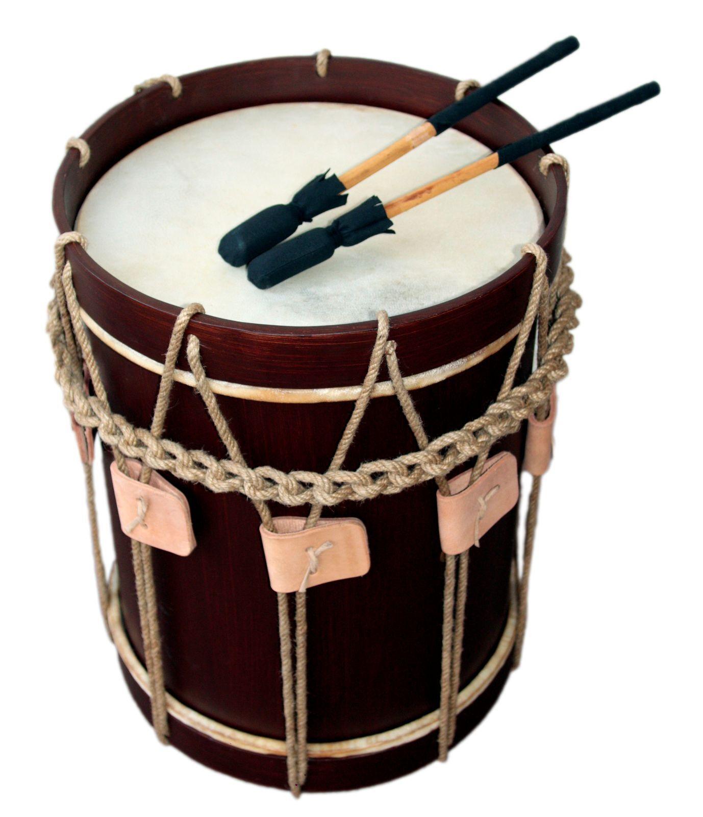 Landsknechtstrommel renacimiento Drum, 13,5