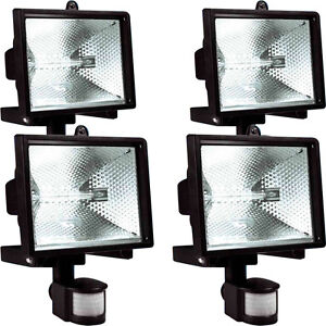 500w 150w halogen floodlight security light pir motion sensor image is loading 500w 150w halogen floodlight security light pir motion mozeypictures Choice Image