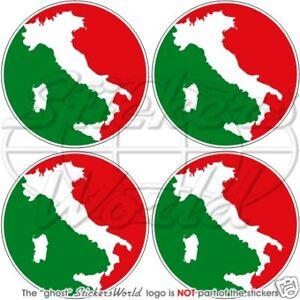 Details About Italien Italienischen Stoßstange Helm 50mm Vinyl Sticker Aufkleber X4