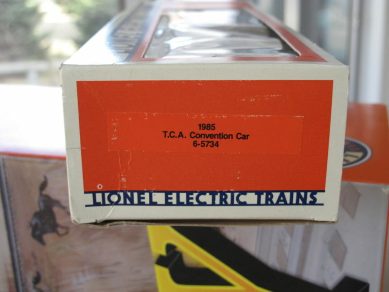 1985 Lionel 6-5734 REA TCA TCA TCA Convention Reefer auto L2467 24c91d