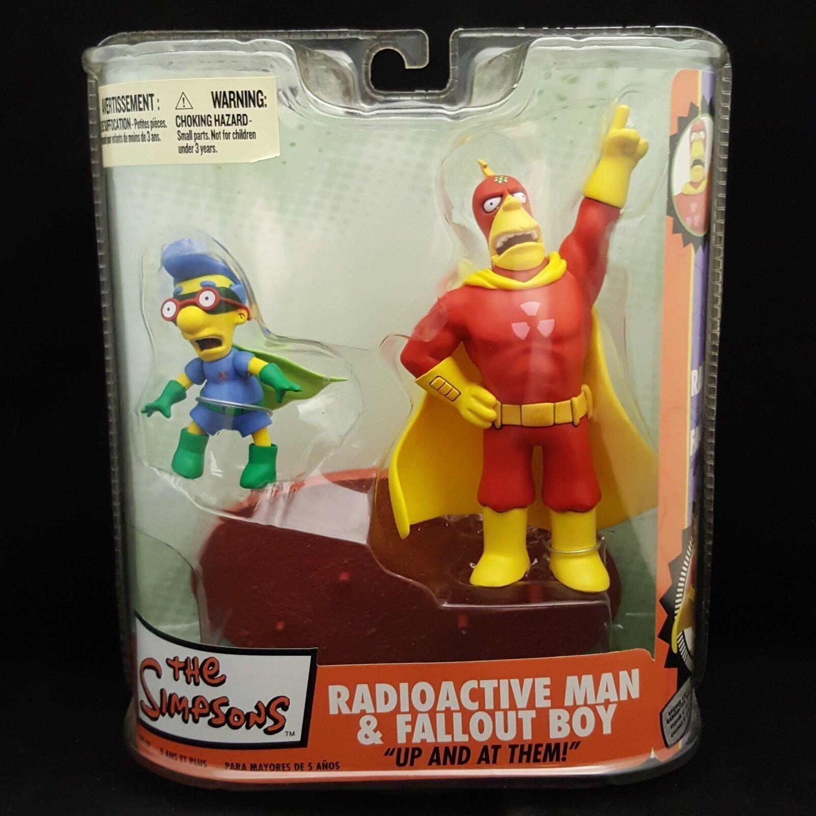 Die simpsons radioactive man mcfarlane spielzeug und fallout boy - neue