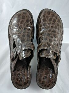 BOC-B-O-C-Born-Concept-Women-039-s-Buckle-Clog-Shoes-9-Brown