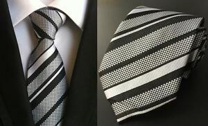 Silver-and-Black-Striped-Handmade-100-Silk-Tie