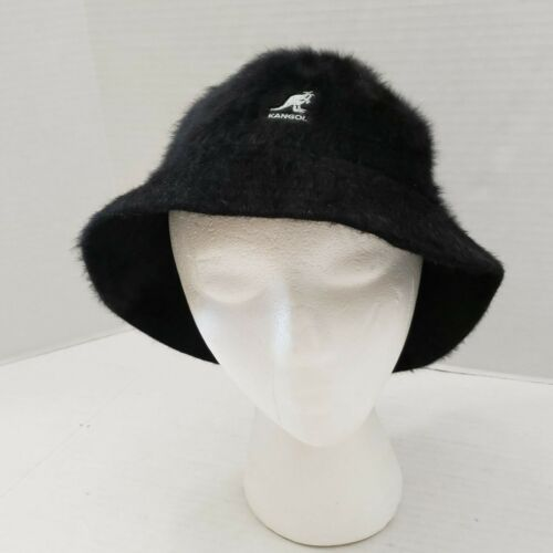 KANGOL Furgora Casual Bucket Hat Angora black Wome