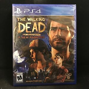 Details about The Walking Dead: The Telltale Series -- A New Frontier:  Season Pass Disc (PS4)