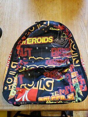Atari 2100 Retro Gamer BackPack BioWorld Laptop Bag Book Bag New Gift old School