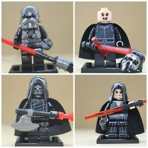 Star-Wars-Film-Jouets-REY-amp-Kylo-Ren-amp-CHEVALIERS-Mini-Figures-utiliser-avec-LEGO-sets