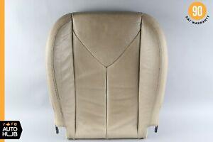05-11 Mercedes R171 SLK350 Front Right Passenger Lower Bottom Seat Cushion Black