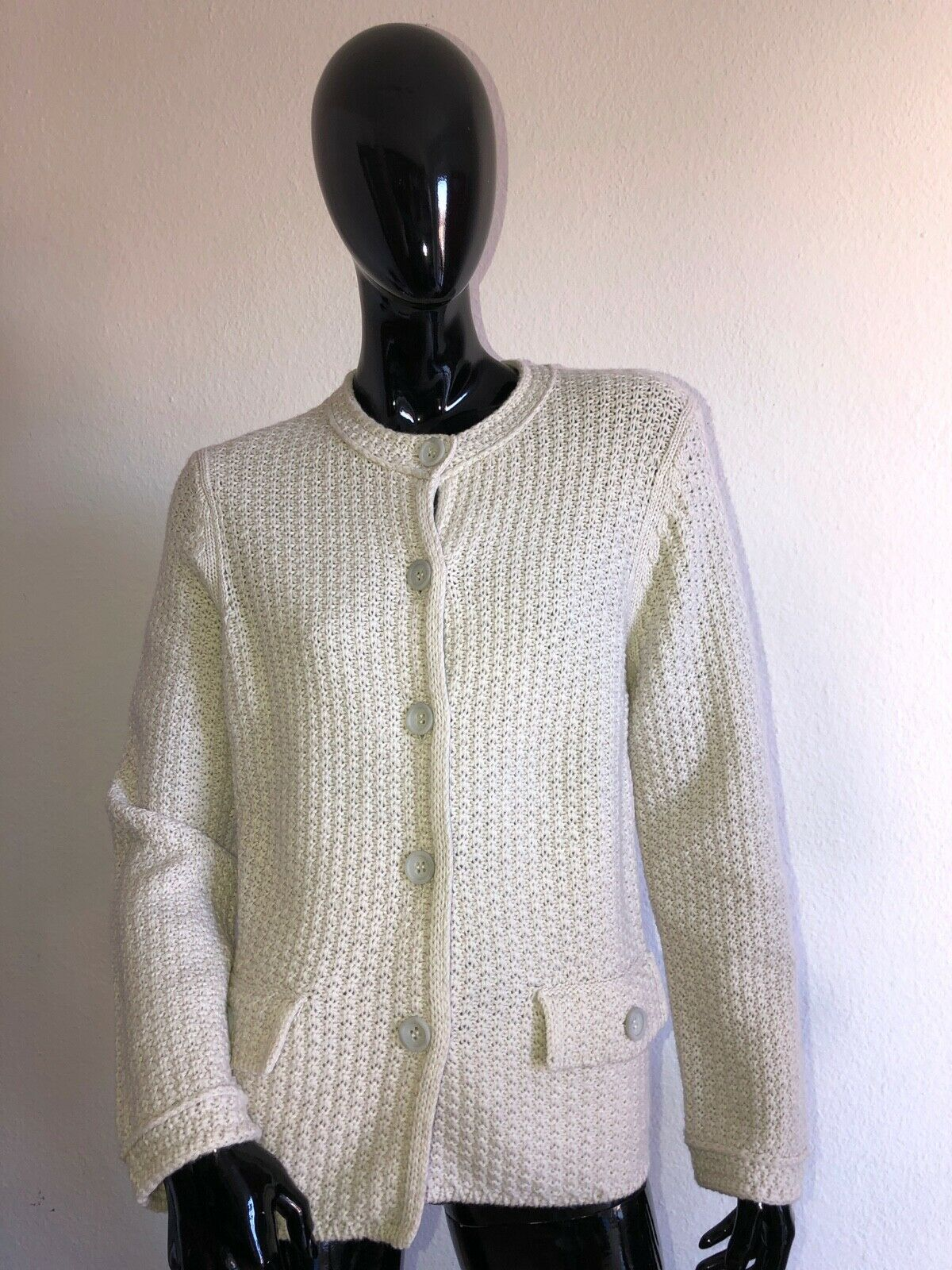 NICE Connection   Cardigan Giacca Pullover cashmere lana tg. 42