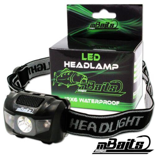 Magic Baits LED Headlamp Multicolor Stirnlampe Kopflampe Angellampe