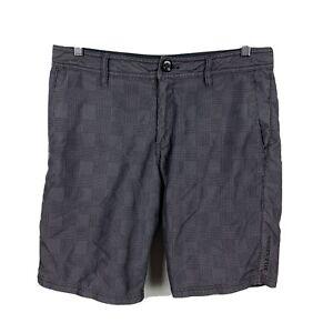 Billabong-Mens-Shorts-Size-32-Grey-Zip-Pockets-Good-Condition