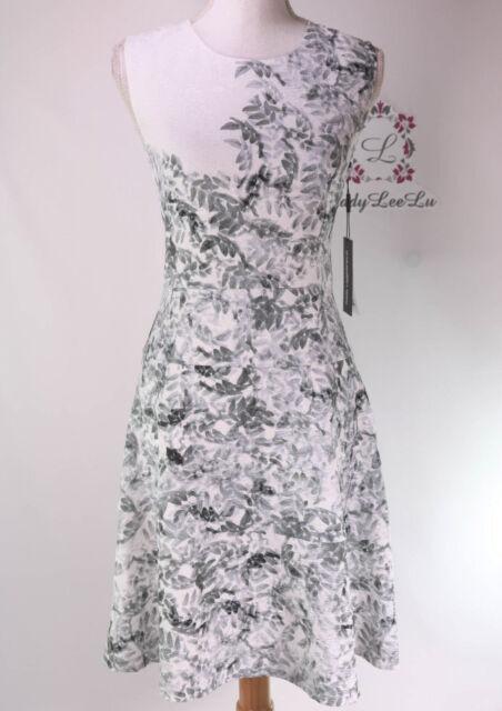 Karl Lagerfeld Paris Contrast Lace Trim Shift Dress L8TD7982 Size 4 6 8 10 NWT