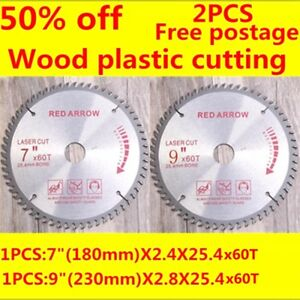 Image Is Loading Saw Blade 9inch 230mmX60T 7 034 X60T Wood