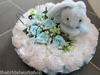 12 Child Baby Funeral Flowers Grave Tribute Floral Based Posy With Card