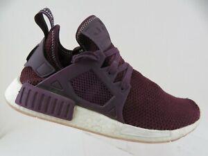 ADIDAS-NMD-R1-PK-Primeknit-Maroon-Sz-9-5-Men-Running-Shoes