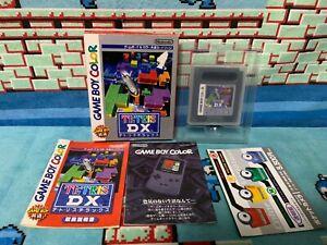 Détails sur Tetris DX Game Boy Japan Boxed Set- afficher le titre d'origine