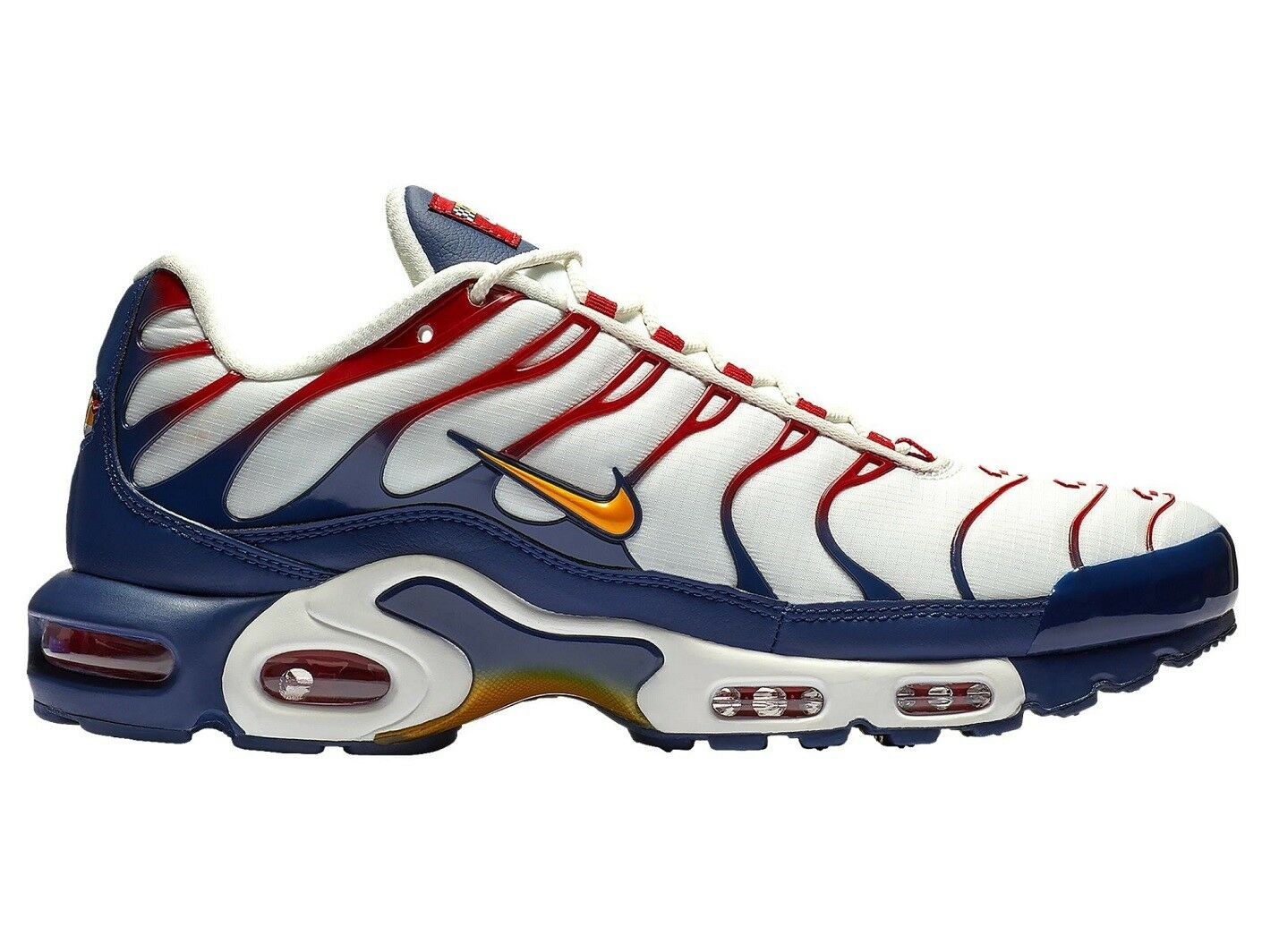 Nike Air Max Plus Nautical Pack Mens AR5400-100 Sail Navy Running Shoes Sz 11.5 Comfortable and good-looking