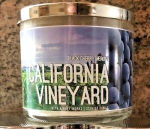 NEW Bath & Body Works California Vineyard Black Cherry ...