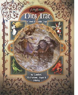Ars Magica Rpg 5th Edition-dies Irae-nuovo Di Zecca-mostra Il Titolo Originale Per Farti Sentire A Tuo Agio Ed Energico