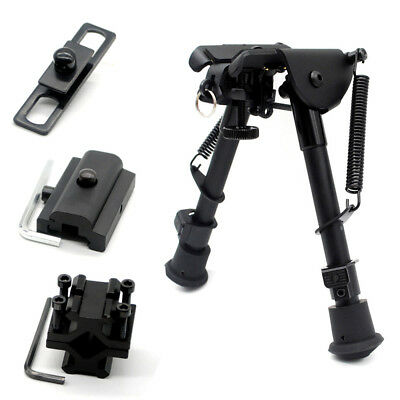 6/'/'-9/'/'//9/'/'-13/'/'//13/'/'-20/'/' Adjustable Sling Swivel Bipod w// Picatinny Adapter