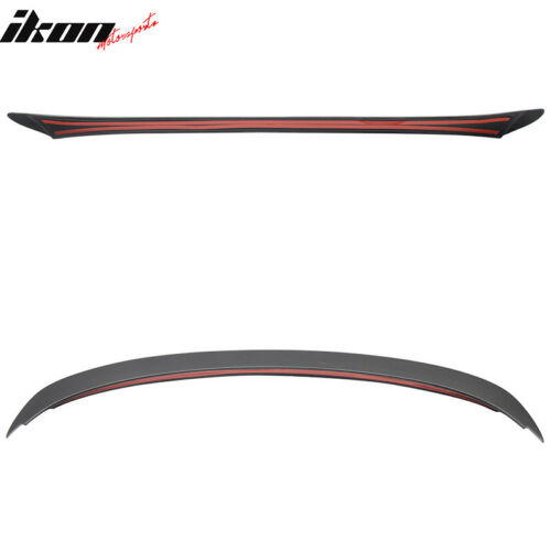 Fits 06-11 BMW 3-Series E90 Sedan AC Style Unpainted ABS Trunk Spoiler Wing