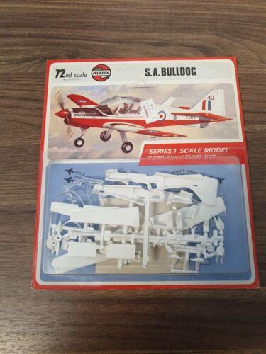 AirFix S.A BullDog 1:72 Plastic Model Kit Vintage UNOPENED BLISTER PACK