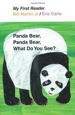 My First Reader: Panda Bear, Panda Bear, What Do You See? by Bill, Jr. Martin (2011, Hardcover)