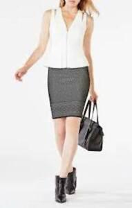 NWT BCBG MaxAzria Catrina sleeveless Jacket, Vest, Top Off White, Sz L  $218.00